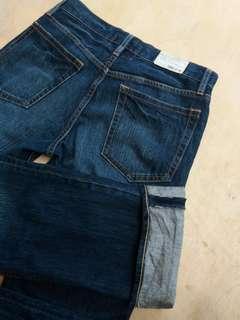 Celana jeans come ca ism no uniqlo levis