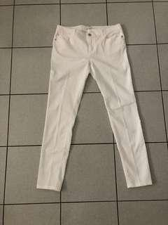 Forever 21 white jeans - size 30