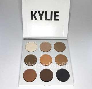 authentic kylie cosmetics bronze eyeshadow palette