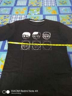 Anime Drawing Tee T Shirt Baju