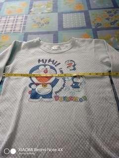 Doraemom Tee T Shirt Baju