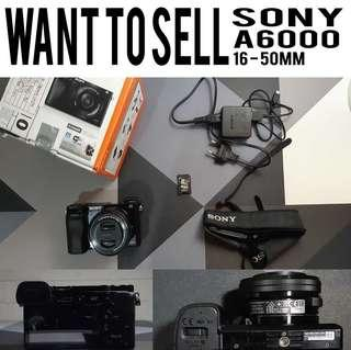 [ FOR SALE ] SONY A6000 16 -50mm