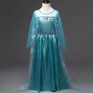 Instock Frozen Elsa Dress Princess Dress