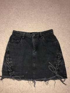 Factorie tie up skirt