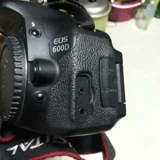 🚚 canon 600d + lens 18,55mm