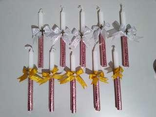 🎀 Baptism candles 🎀 made to order