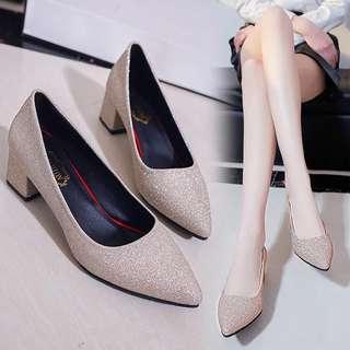 Little Ladies Shoe - FDS432  Size: 35, 36, 37, 38, 39, 40  Color: as attach photo