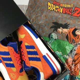 000c14336c9 (In Stock) US10.5 Adidas Dragon Ball Z Goku ZX 500 RM