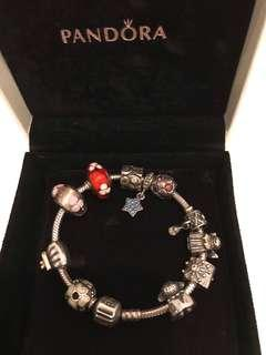 GB-Pandora Bracelet with charms