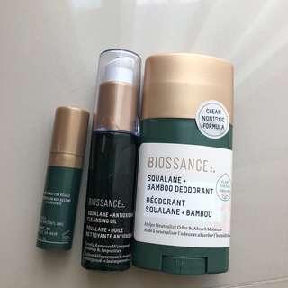 Cleansing eye cream deodorant Biossance