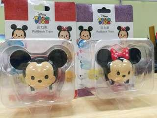 Disney Tsum Tsum Pullback Car set