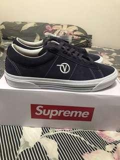 全新 vans x supreme sid pro ( purple ) us10