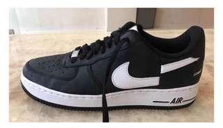 全新 supreme x cdg x Nike Air Force 1 us9.5