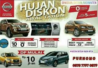 Hujan Diskon Nissan & Datsun