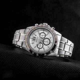 Authentic Brand New Seiko Lord Chronograph Quartz SPC241 SPC241P1 SPC241P Men's Watch