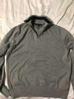 Tommy Hilfiger Quarter Zip-Up Sweater