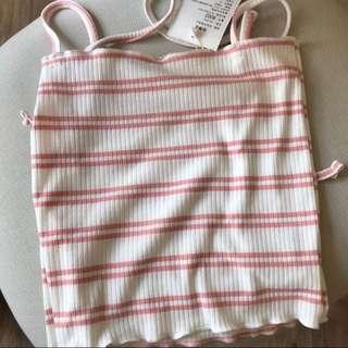 $5 MAILED STRIPED TOP