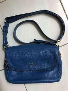 Fossil Blue Leather