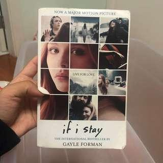 If I stay novel