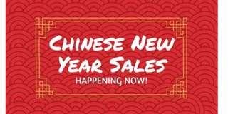 Chinese New year sale! Giving bulk discount! Buy more for less!!