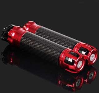 Handle grip red black