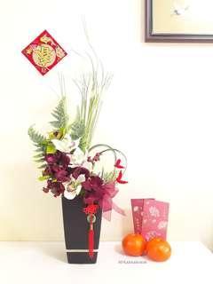 Faux Flower 🍊🍊 Elegant Orchids