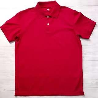 UNIQLO Polo Shirt Merah