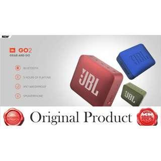 Original J Portable Waterproof Bluetooth Speaker