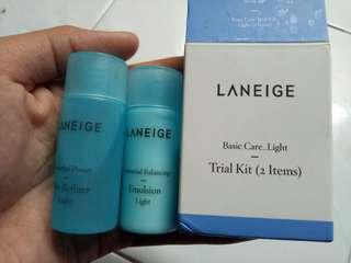 Laneige Basic Care Light Triat Kit