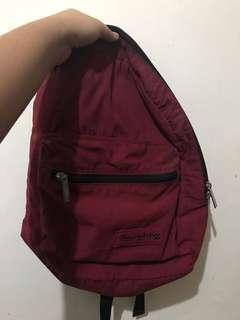 Heartstring Maroon Backpack (mint condition)