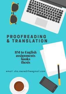 Proofreading and Translation