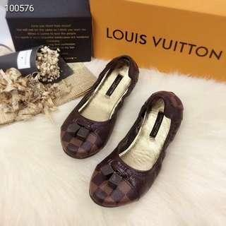 Brandnew! Authentic Quality LV Louis Vuitton Doll Shoes (Damier)