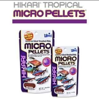 JAPANESE QUALITY-Hikari Hikari Tropical MICRO PELLETS