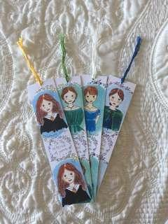 Heroine Bookmarks
