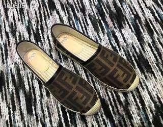 Sale! Brandnew Authentic Quality Fendi Espadrilles Shoes