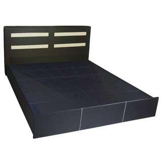 """Bely Queen Size PU Leather Bed Frame (60""""x75"""")"""