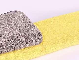 超吸水纖維毛巾 雙面兩用
