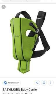 Baby Bjorn carrier-easy to use and convenient