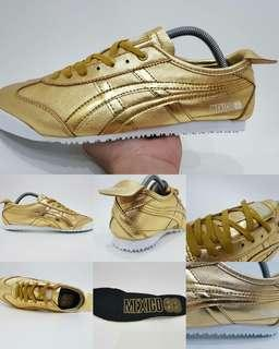 Asics Tiger Onitsuka Mexico 66  Deluxe  Gold Original Indonesia
