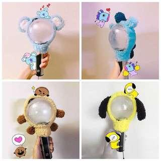 BT21 Plush Light Stick Cover