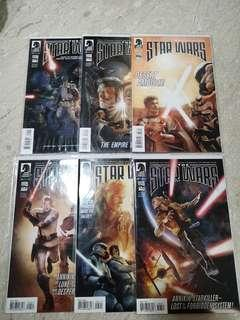 Star wars comics  (Dark Horse)