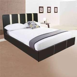 Vinc Queen Size PU Leather Bed Frame 60x75