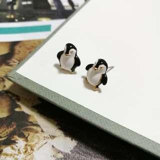 Penguin Earrings