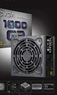 EVGA SuperNOVA 1000W G3 PSU 10 Years Warranty