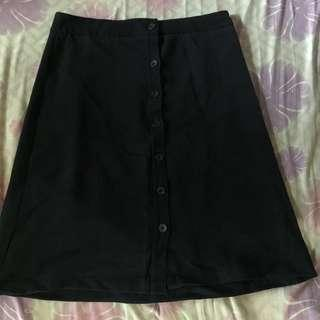 Black formal/casual skirt