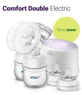 Philips double electric breast pump