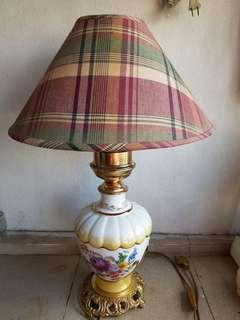 Antique Bronpor Table Lamp made in Italy