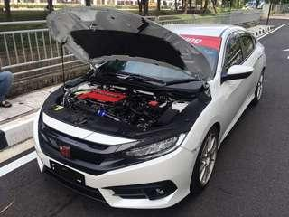 ECU performance remap for honda civic city accord crv