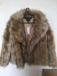 Topshop Fur Coat Brand New with Tag