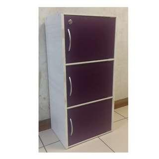 """3 layers Cabinet with Door L16.25"""" x D12"""" x H35.25"""""""